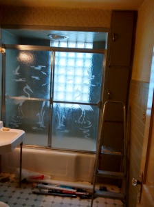 Ashland House Bathroom Before