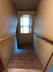 Ashland Original Stairs to Basement