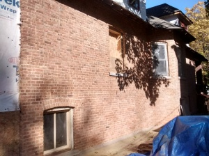 Ashland House South Side Brick All Stripped