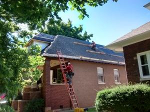 New Roof (In Progress)