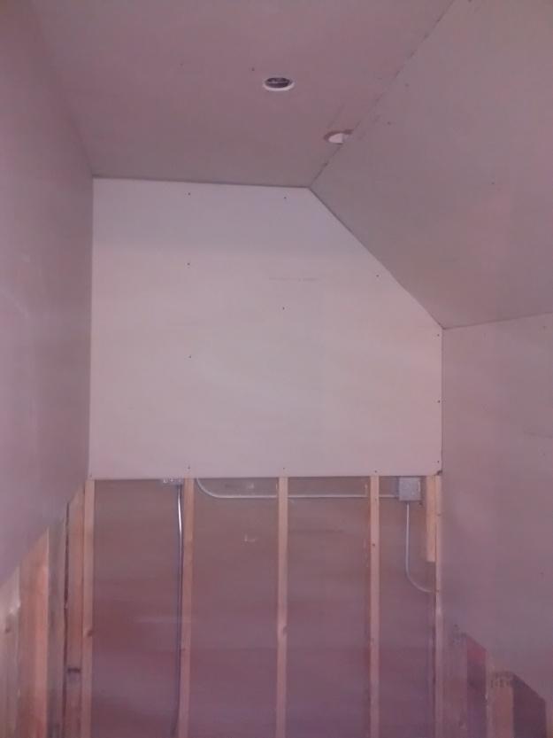 Evan's Closet Partial Drywall