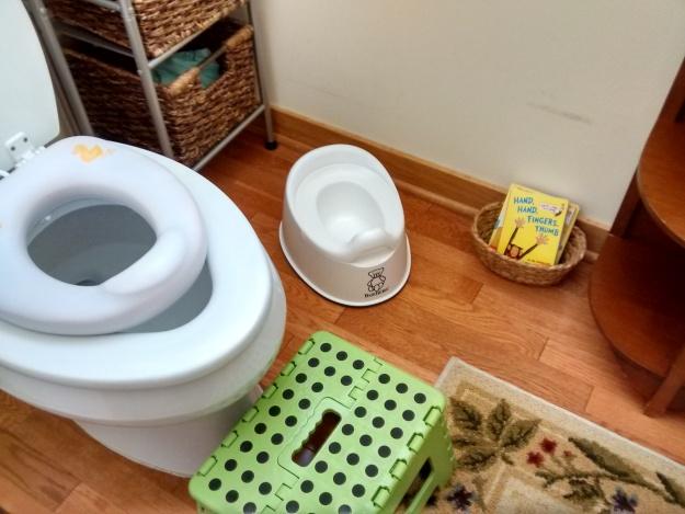 Potty Set-Up Joyful Day Montessori
