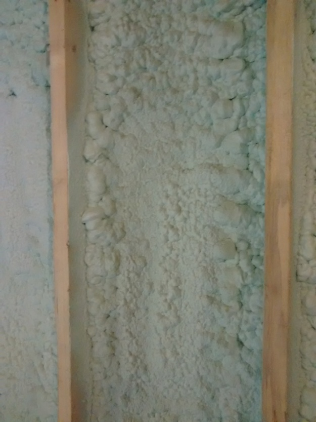 Spray Foam Close Up