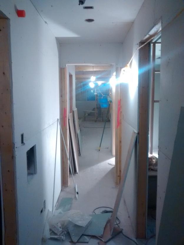 Upstairs Hallway Toward Master Bedroom