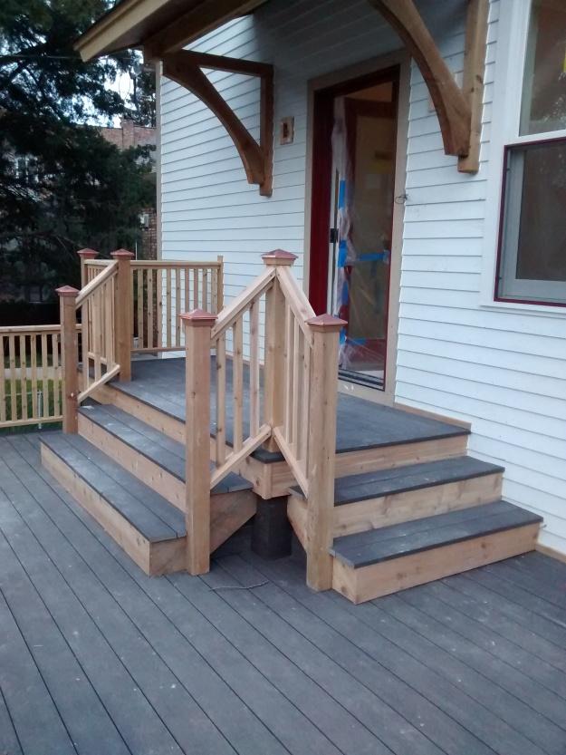 Finished Porch Landing
