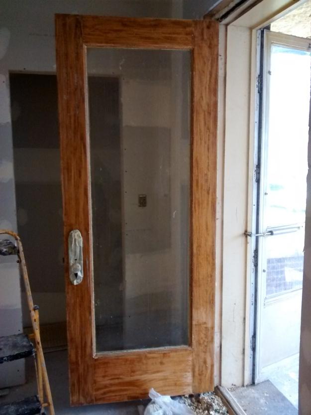Front Door Stripped