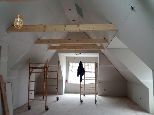 Master Bedroom All Drywall Up