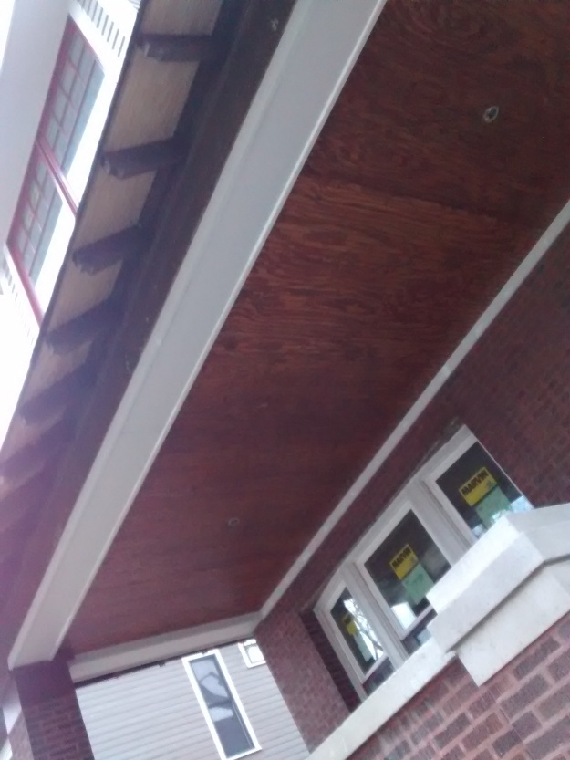 New Front Porch Ceiling Part 2