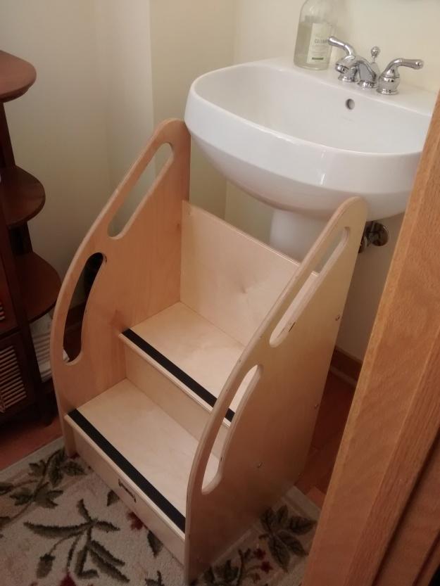 Toddler Sink Stool