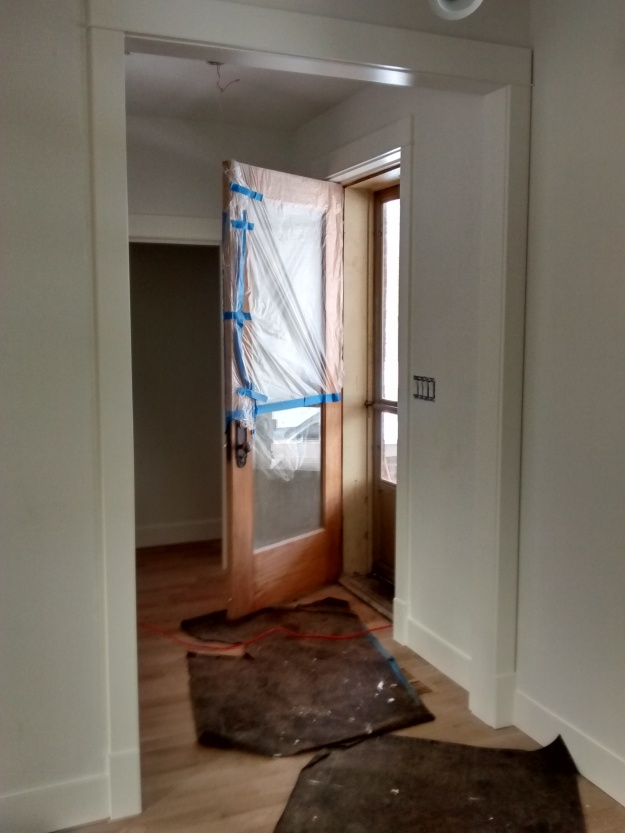 Entry Way Casing