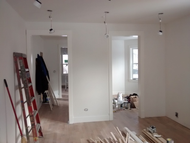 Trim From Kitchen Into Dining Room