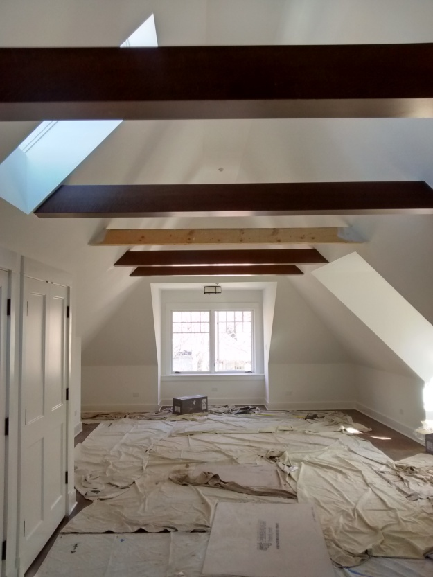 Exposed Beams Bungalow Addition Design
