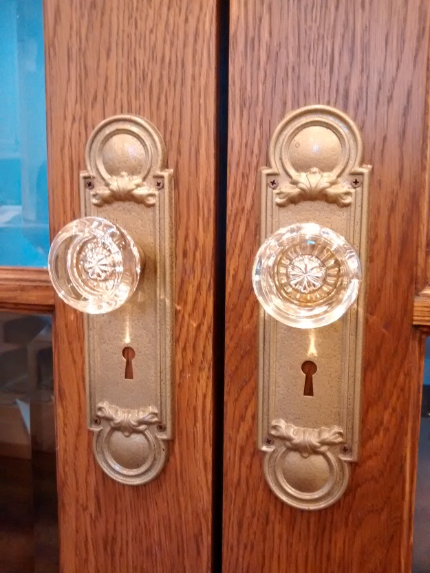 restored bungalow door hardware