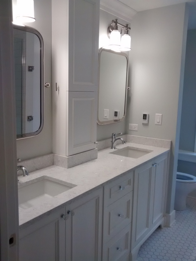 bathroom photo benjamin moore simply white cabinetry