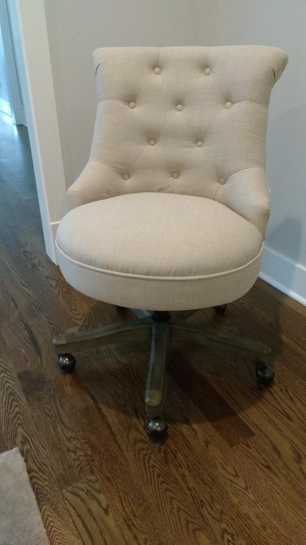 Elsie Upholstered Office Chair Assembled II
